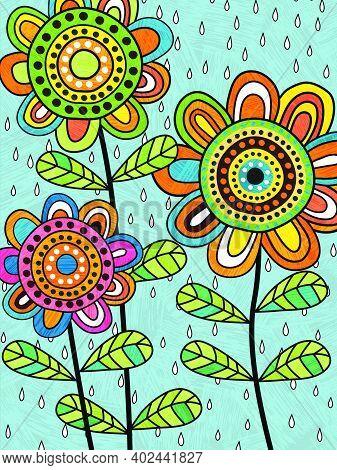 Folkartflowers