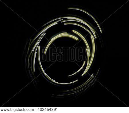 Yellow Glow Illumination Circle