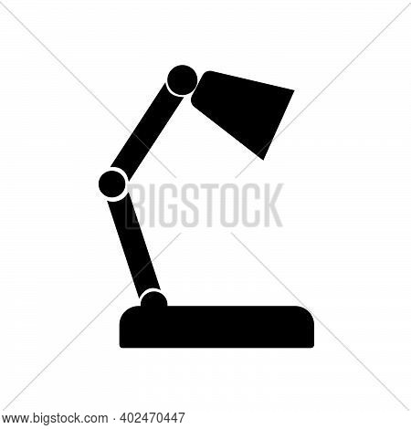 Table Lamp Icon Isolated On White Background From Education Collection. Table Lamp Icon Trendy And M