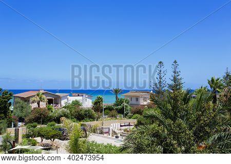 Beautiful View Of The Coast Of Castellammare Del Golfo