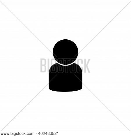 Person Icon Vector. Person Icon Isolated On White Background. Person Icon Simple And Modern.