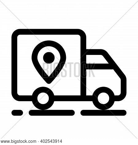 Delivery, Shipment Or Transport Icon. Express Delivery Symbol