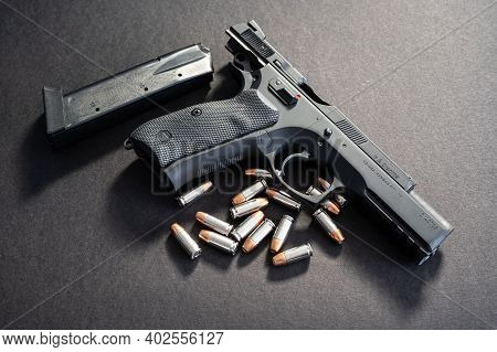 A Full Sized Firearm With Self Defense Rounds