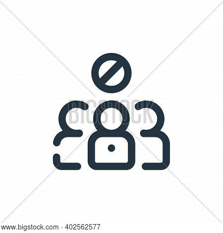 avoid icon isolated on white background. avoid icon thin line outline linear avoid symbol for logo,