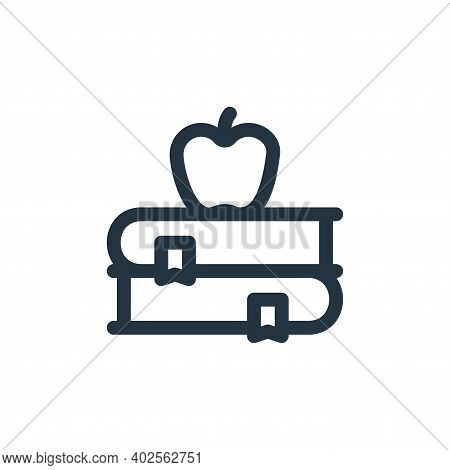 books icon isolated on white background. books icon thin line outline linear books symbol for logo,