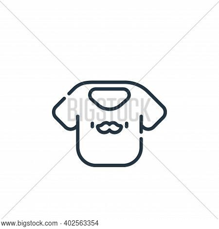 dad icon isolated on white background. dad icon thin line outline linear dad symbol for logo, web, a