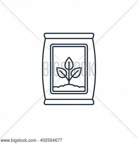 fertilizer icon isolated on white background. fertilizer icon thin line outline linear fertilizer sy