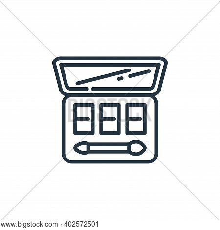 cosmetics icon isolated on white background. cosmetics icon thin line outline linear cosmetics symbo