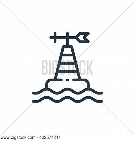 monitoring icon isolated on white background. monitoring icon thin line outline linear monitoring sy