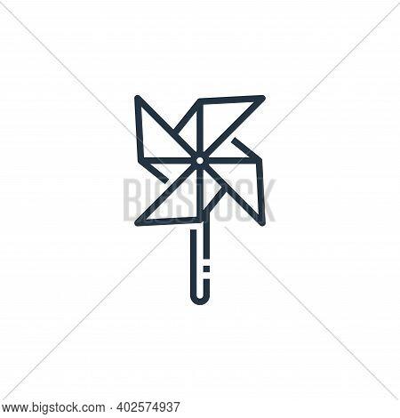 wind turbine icon isolated on white background. wind turbine icon thin line outline linear wind turb