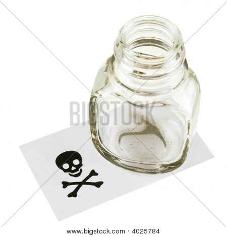 Cupping-Glass And Skull And Crossbones