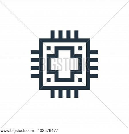 data icon isolated on white background. data icon thin line outline linear data symbol for logo, web