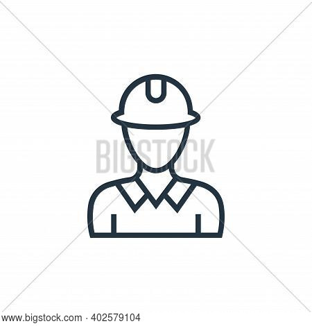 technician icon isolated on white background. technician icon thin line outline linear technician sy