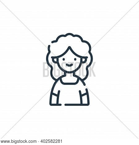 mother icon isolated on white background. mother icon thin line outline linear mother symbol for log