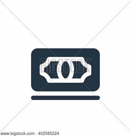 banknote icon isolated on white background. banknote icon thin line outline linear banknote symbol f