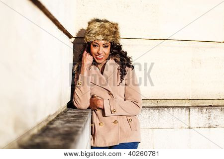 African American Smiling Woman