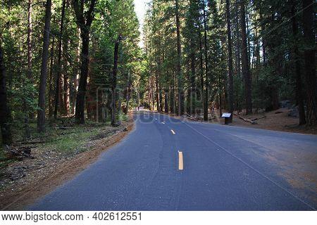 Yosemite, Usa - 11 Jul 2017: Yosemite National Park In California, United States