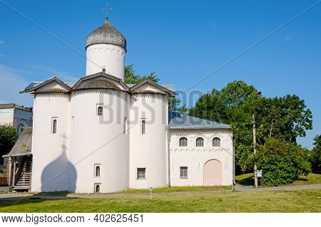 Novgorod, The Church Of The Myrrh Bearing Women At The Yaroslav Courtyard