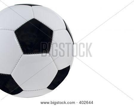 Cropped Soccer Ball