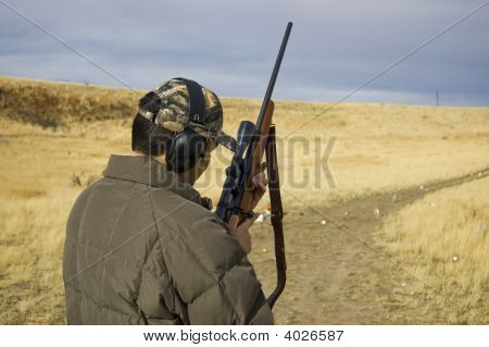 Sportsman With Rifle