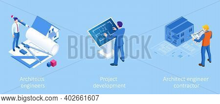 Isometric Construction Project Management, Architectural Project Planning, Development And Approval.