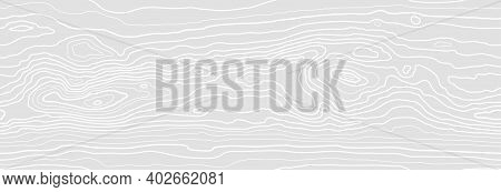 Seamless Pattern Of Dense Thin Lines, Wood Grain Texture Background. Wooden Texture. Vector Wallpape