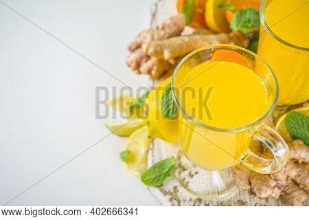 Ginger Citrus Immunity Drink