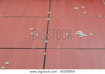 Unfinished Red Tiles