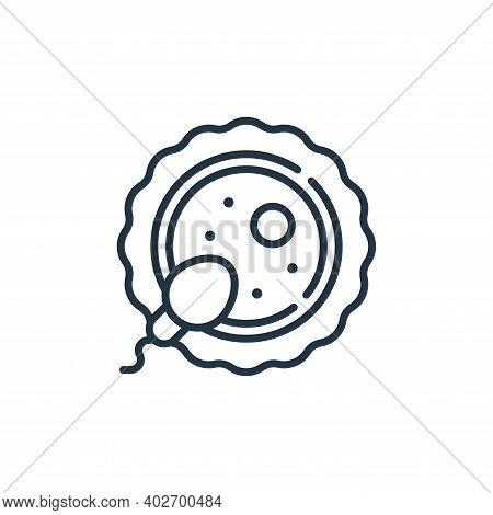 fertilization icon isolated on white background. fertilization icon thin line outline linear fertili