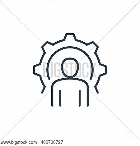support icon isolated on white background. support icon thin line outline linear support symbol for