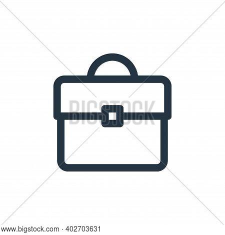 portfolio icon isolated on white background. portfolio icon thin line outline linear portfolio symbo