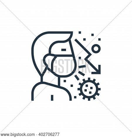 transmission icon isolated on white background. transmission icon thin line outline linear transmiss