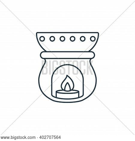 aromatherapy icon isolated on white background. aromatherapy icon thin line outline linear aromather