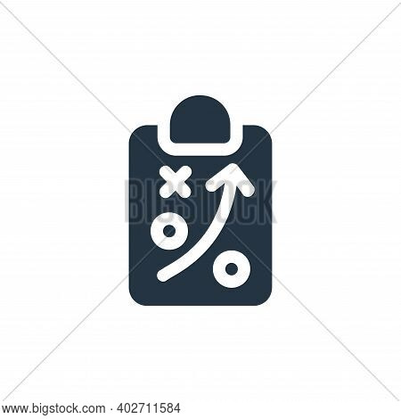 strategy icon isolated on white background. strategy icon thin line outline linear strategy symbol f