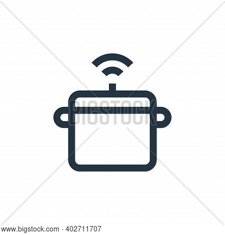 pressure icon isolated on white background. pressure icon thin line outline linear pressure symbol f