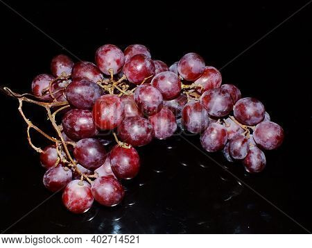Grapes Are Vines That Belong To The Vitaceae Family. This Fruit Is Usually Used To Make Grape Juice,