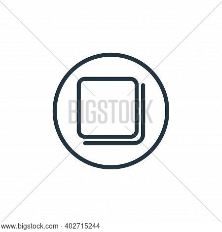 page icon isolated on white background. page icon thin line outline linear page symbol for logo, web