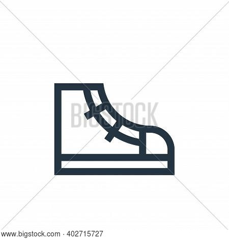 sneaker icon isolated on white background. sneaker icon thin line outline linear sneaker symbol for