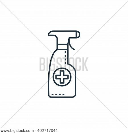 alcohol icon isolated on white background. alcohol icon thin line outline linear alcohol symbol for