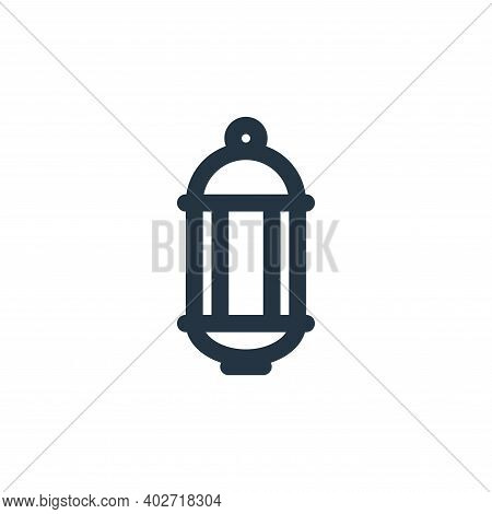 lantern icon isolated on white background. lantern icon thin line outline linear lantern symbol for