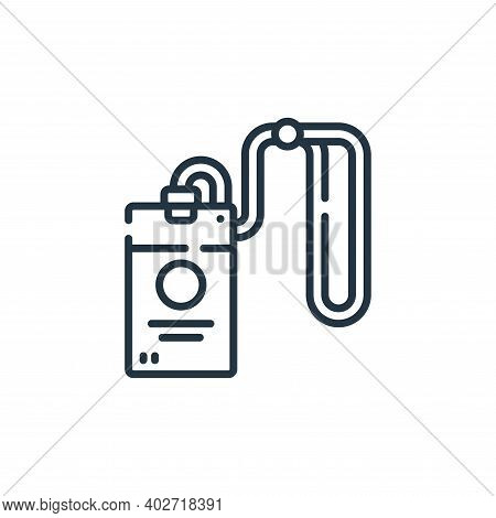 id card icon isolated on white background. id card icon thin line outline linear id card symbol for