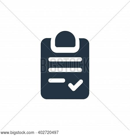 checklist icon isolated on white background. checklist icon thin line outline linear checklist symbo