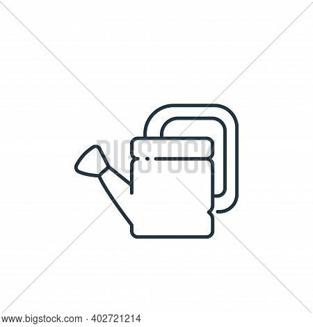 watering can icon isolated on white background. watering can icon thin line outline linear watering