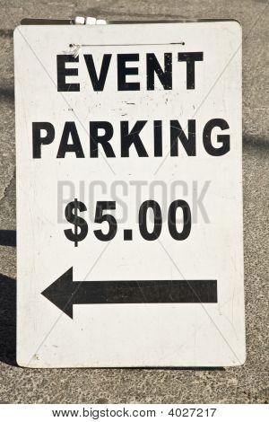 Ereignis Parkplatz $5.00