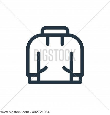 hoodie icon isolated on white background. hoodie icon thin line outline linear hoodie symbol for log