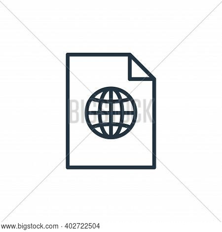 online icon isolated on white background. online icon thin line outline linear online symbol for log