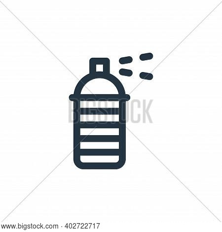 spray paint icon isolated on white background. spray paint icon thin line outline linear spray paint