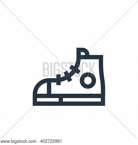 sport shoes icon isolated on white background. sport shoes icon thin line outline linear sport shoes