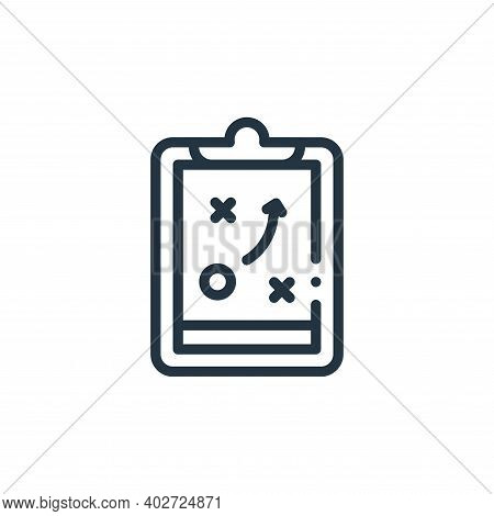 clipboard icon isolated on white background. clipboard icon thin line outline linear clipboard symbo