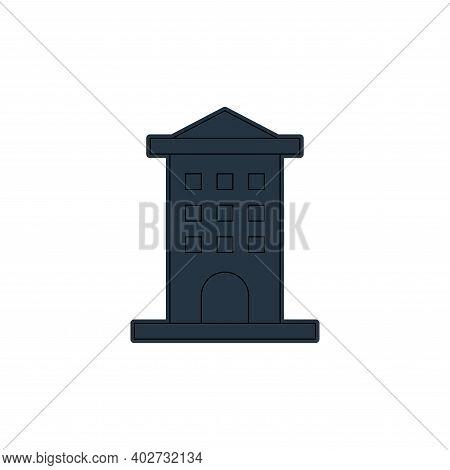 apartment icon isolated on white background. apartment icon thin line outline linear apartment symbo